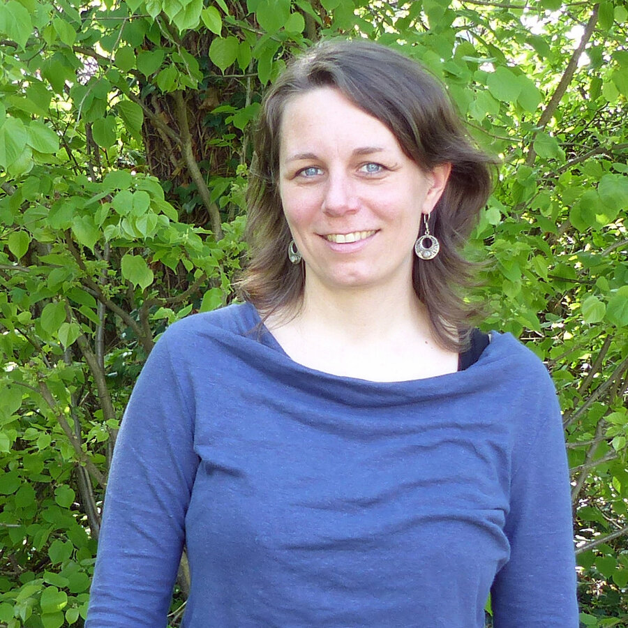 Bild zeigt die Frauen- und Gleichstellungsbeauftragte Annika Frohböse; Bild: Stadt Maintal