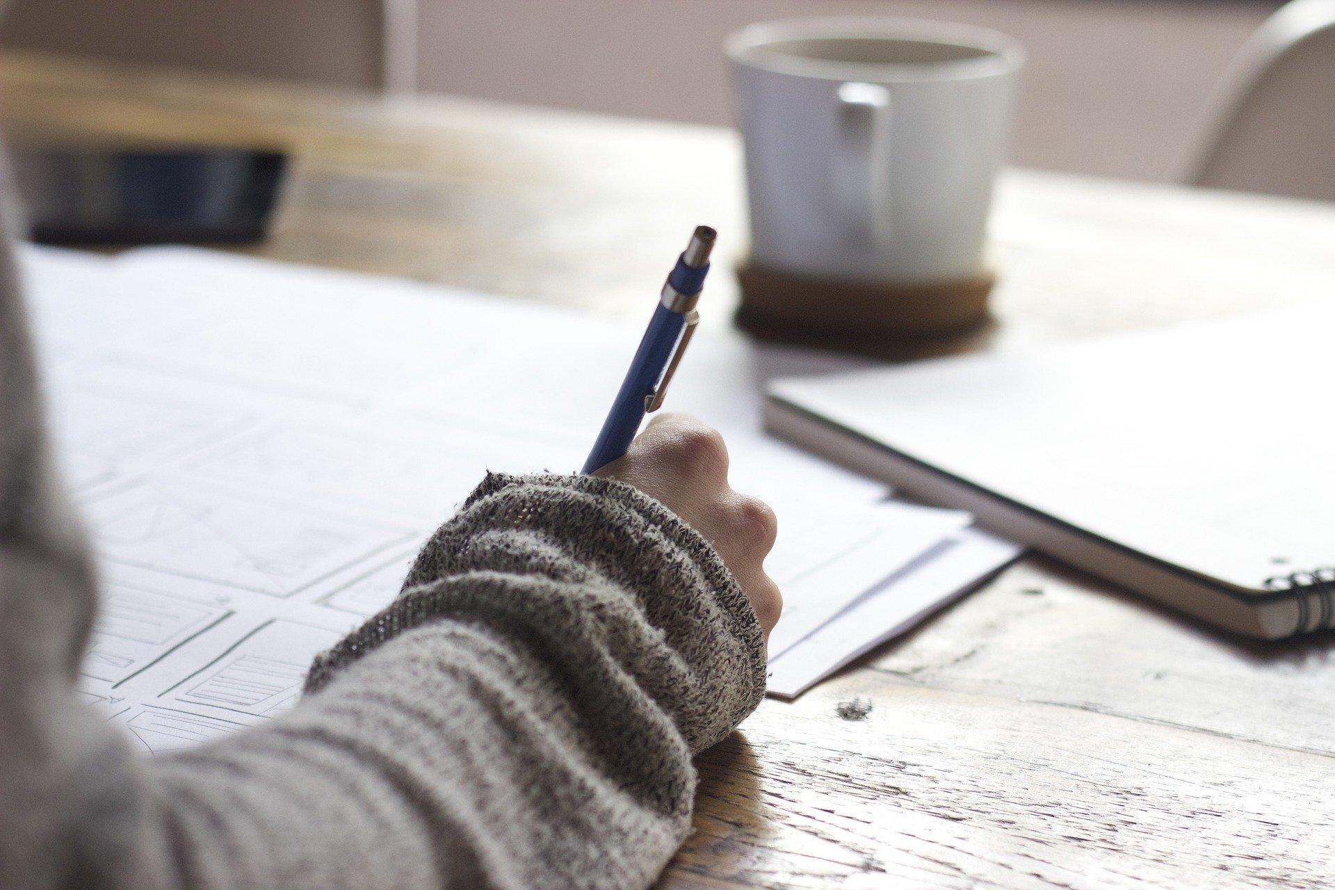 writing auf Pixabay