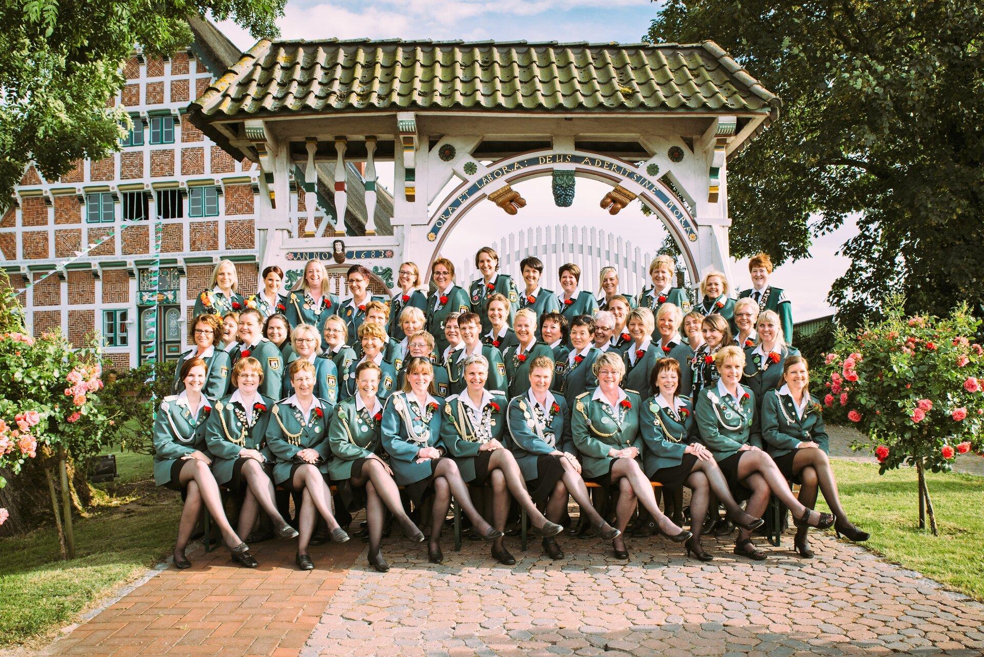 Gruppenfoto Altländer Pforte