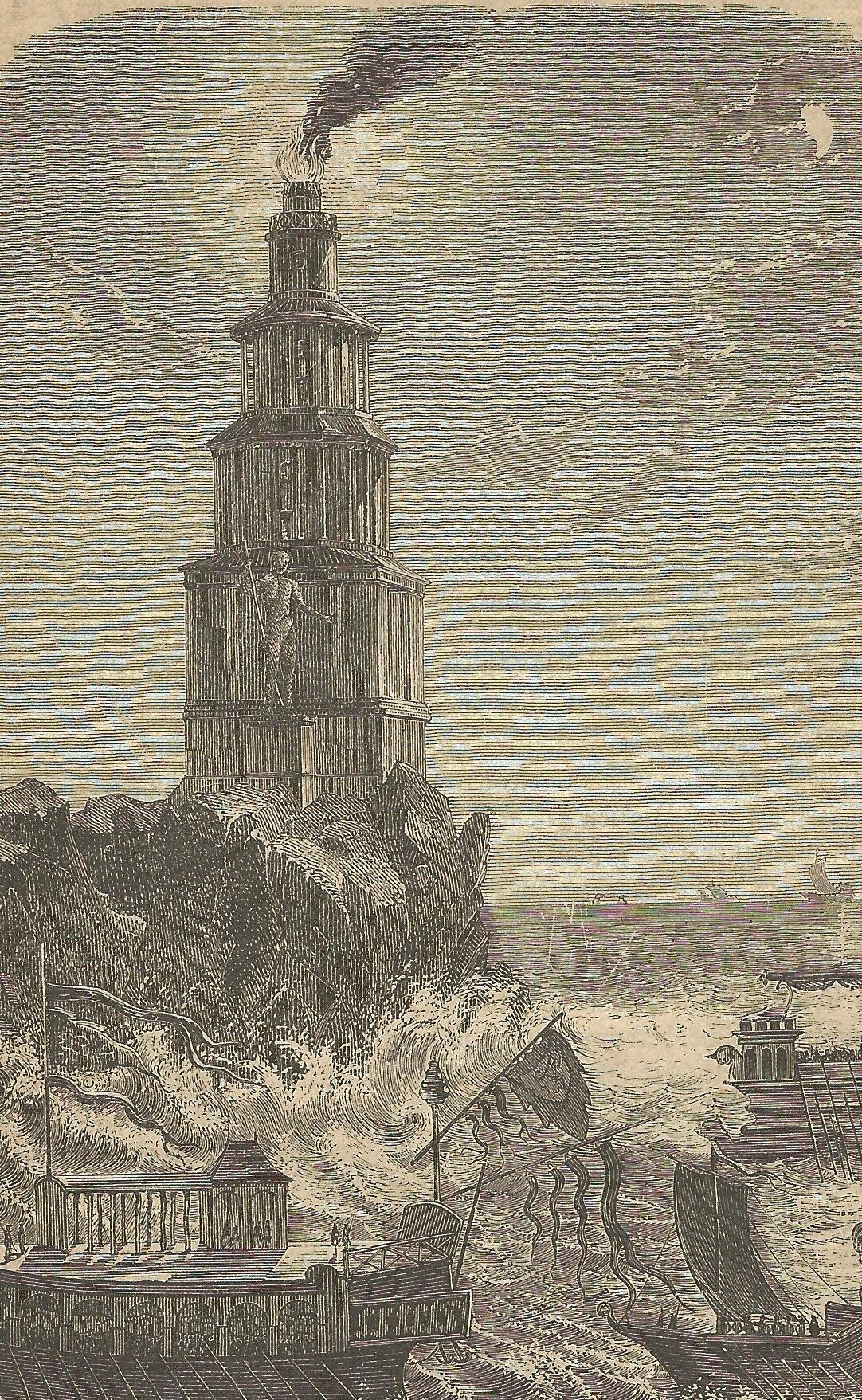 Leuchtturm Pharus Alexandrien