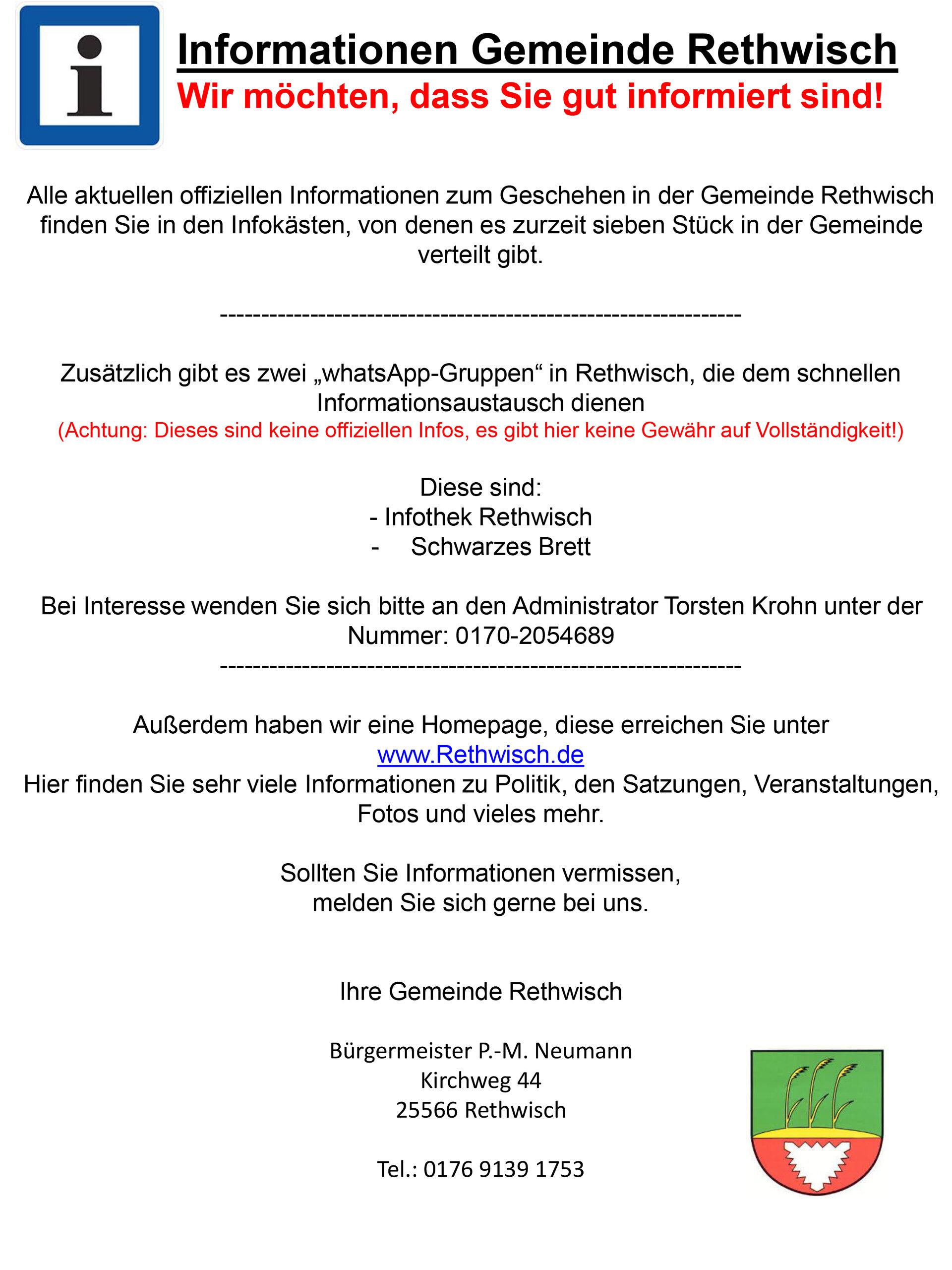 Info Rethwisch