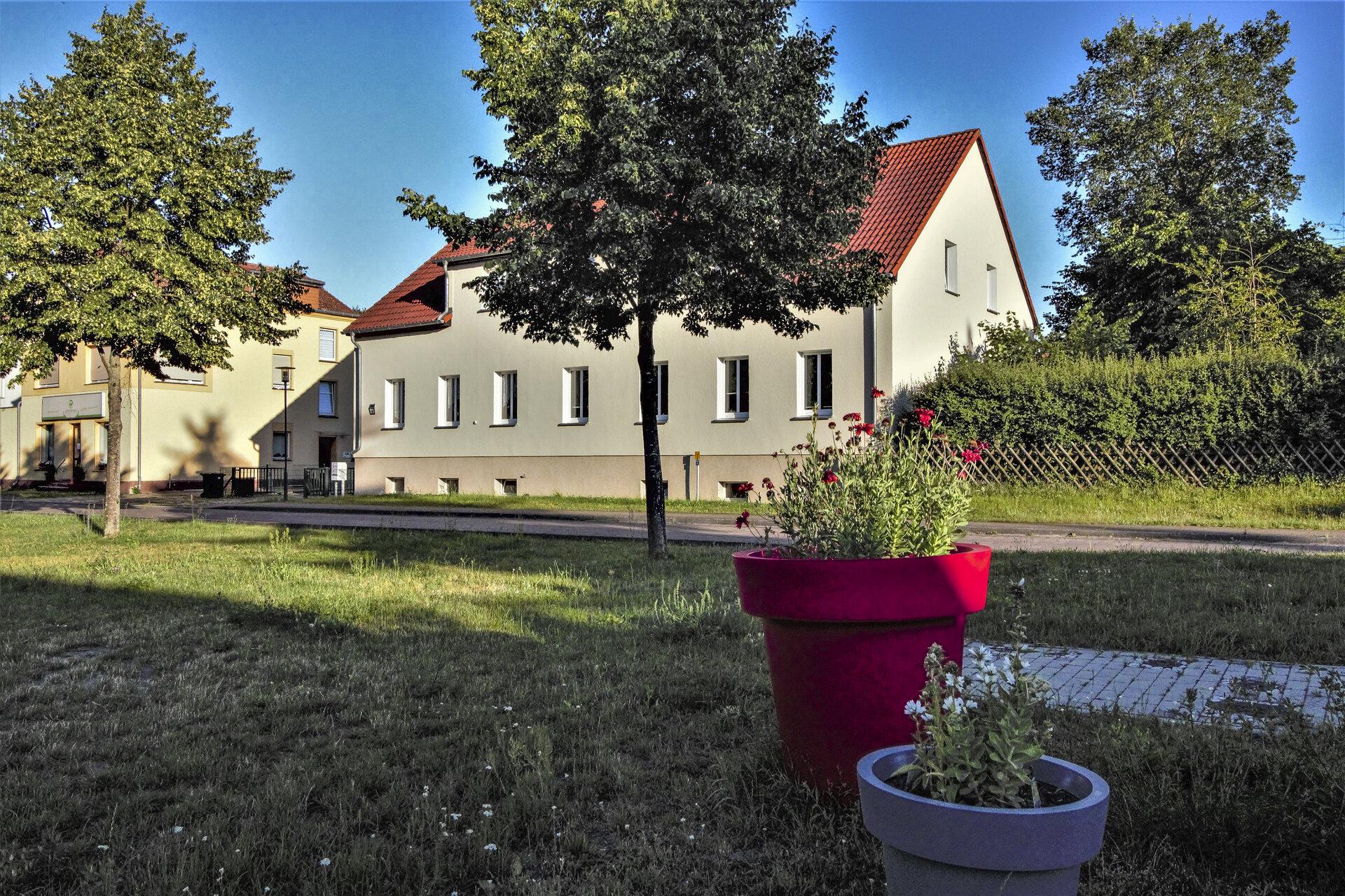 Fürstenwalder Str. 1 - Rückansicht
