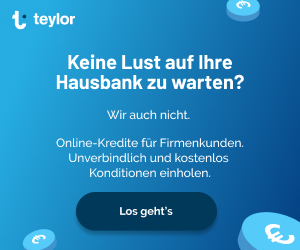 Teylor - Der einfache Firmenkredit für KMU