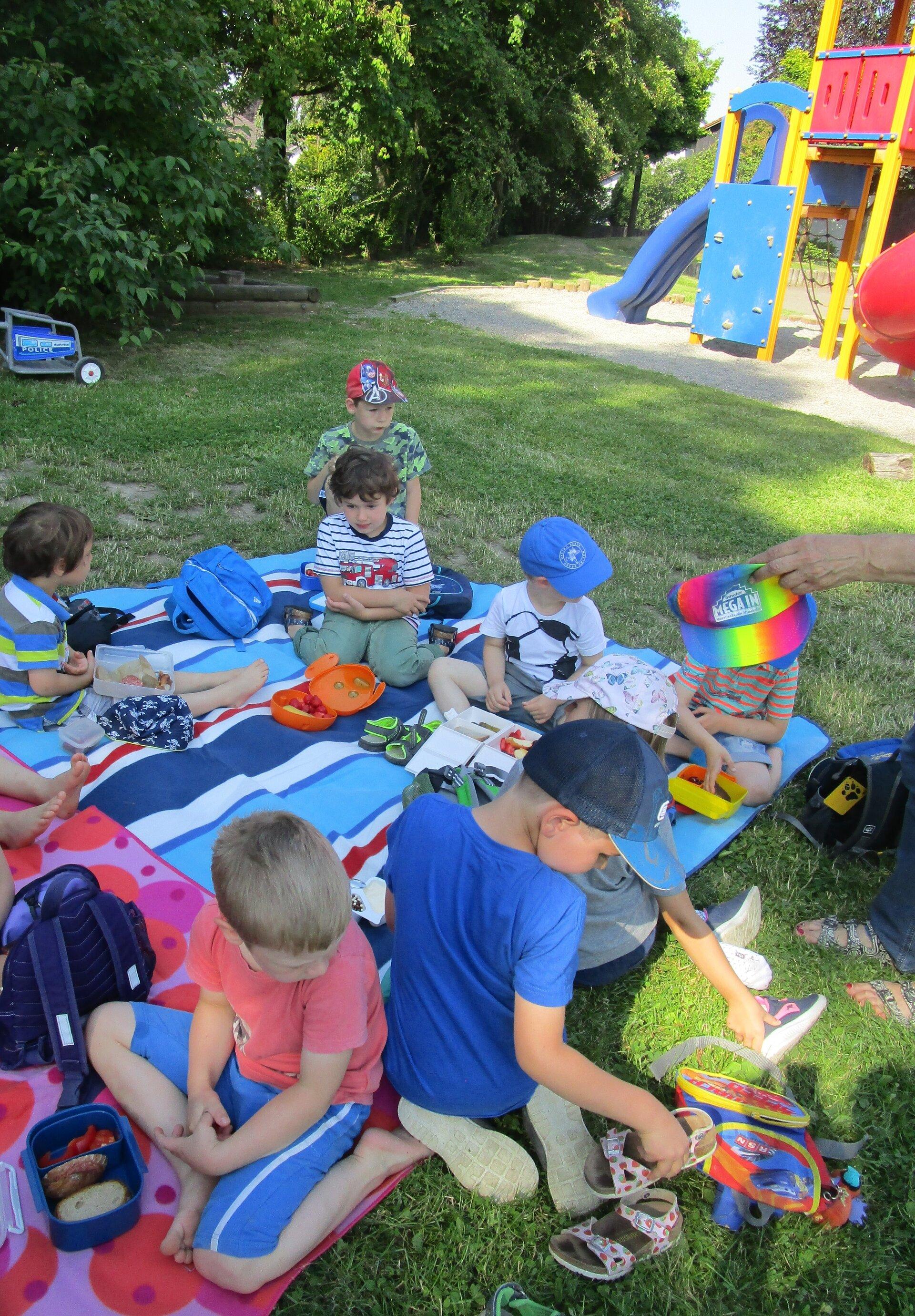 Kindergarten Picknick