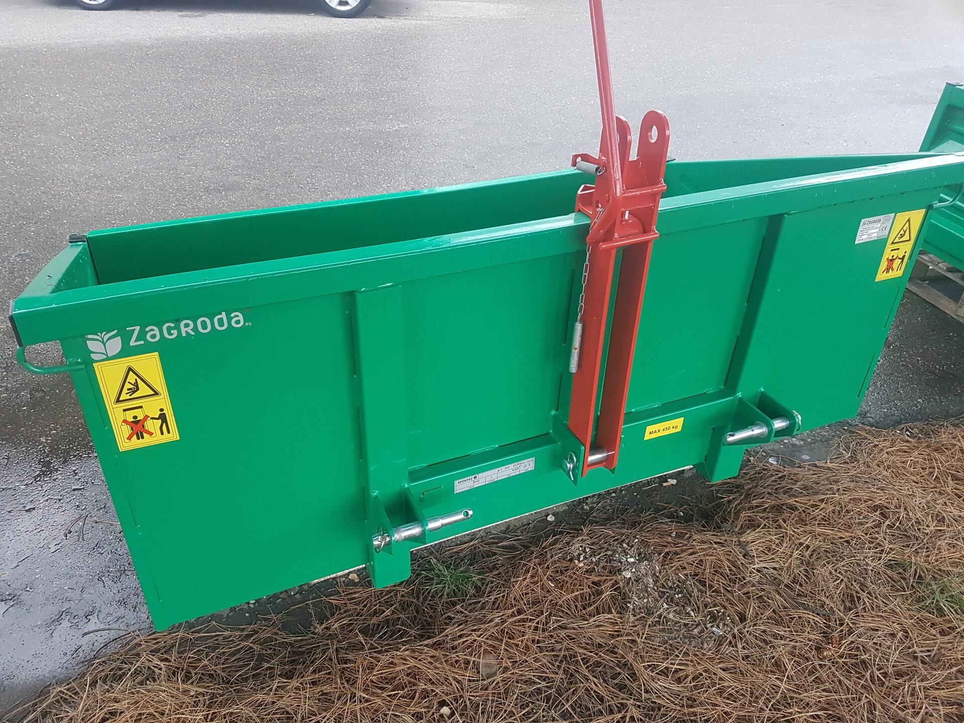 FISCHER Heckcontainer hydraulisch