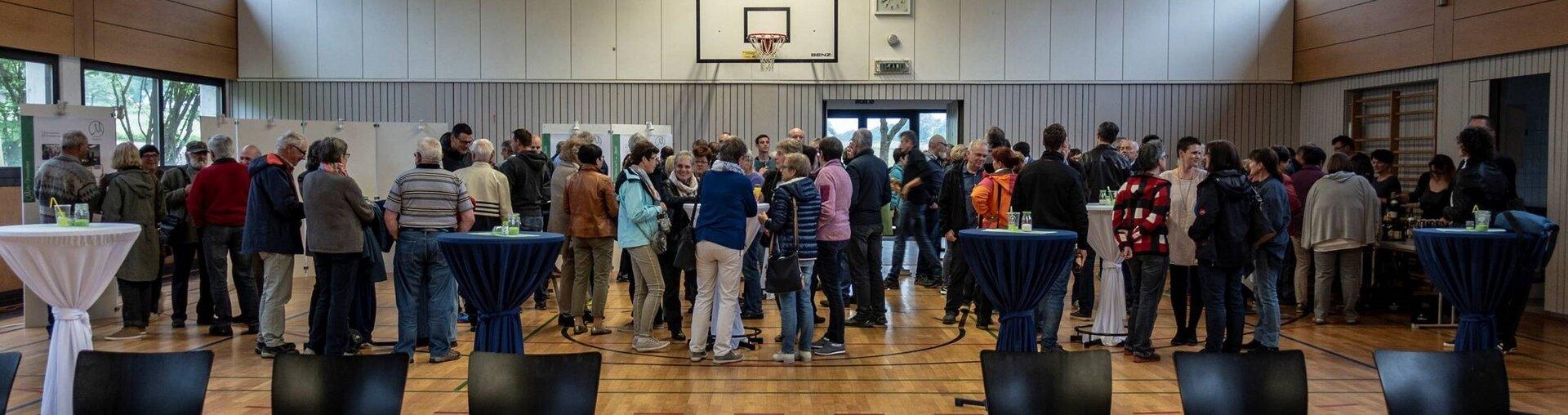 Impressionen vom 2. Bürgerforum in Mehrstetten.