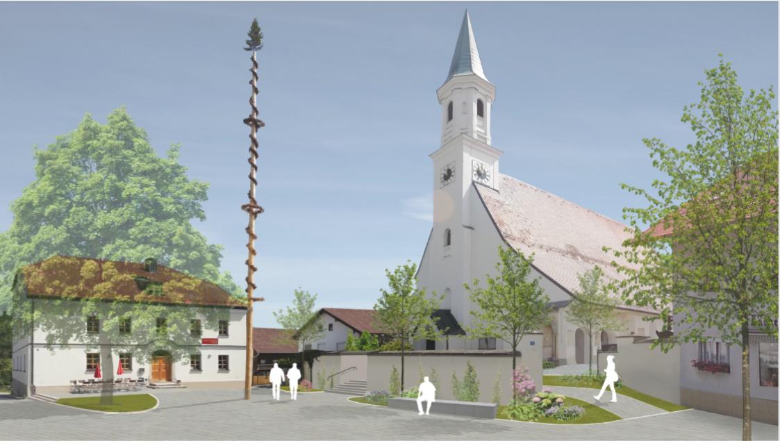 Dorfplatz_Holzkirchen_Plan