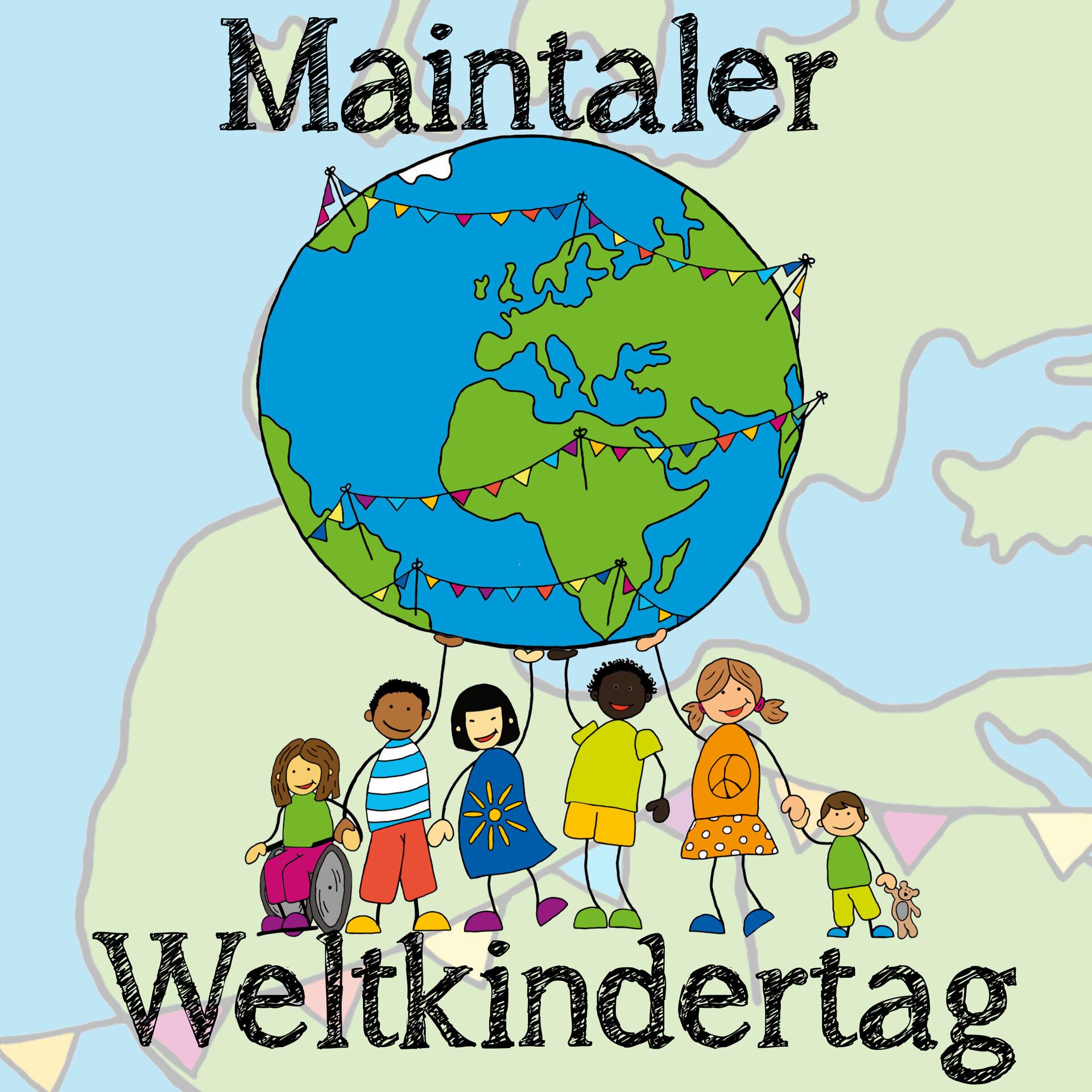 Logo Maintaler Weltkindertag