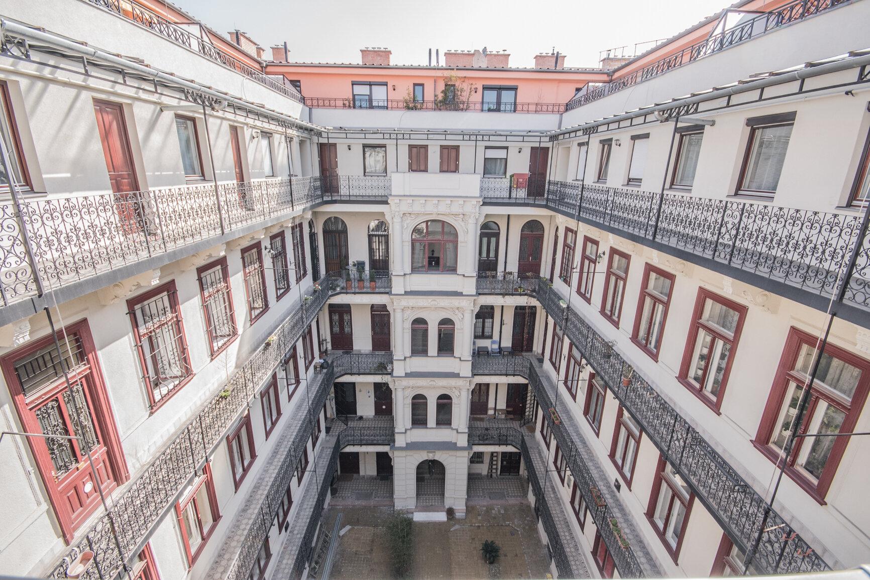 Budapest Wohnhaus im Palastviertel