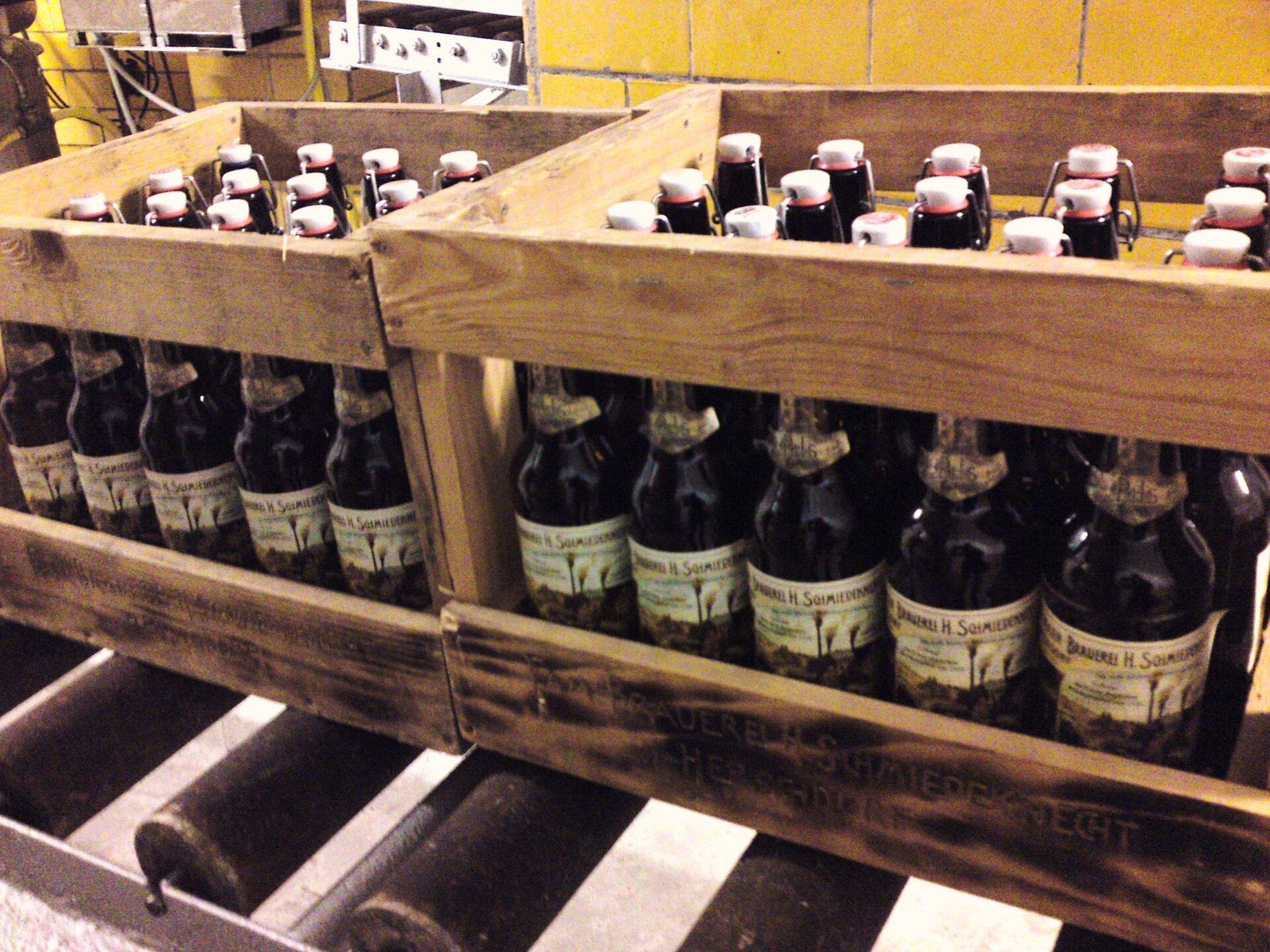Bier der Brauerei Schmiedeknecht