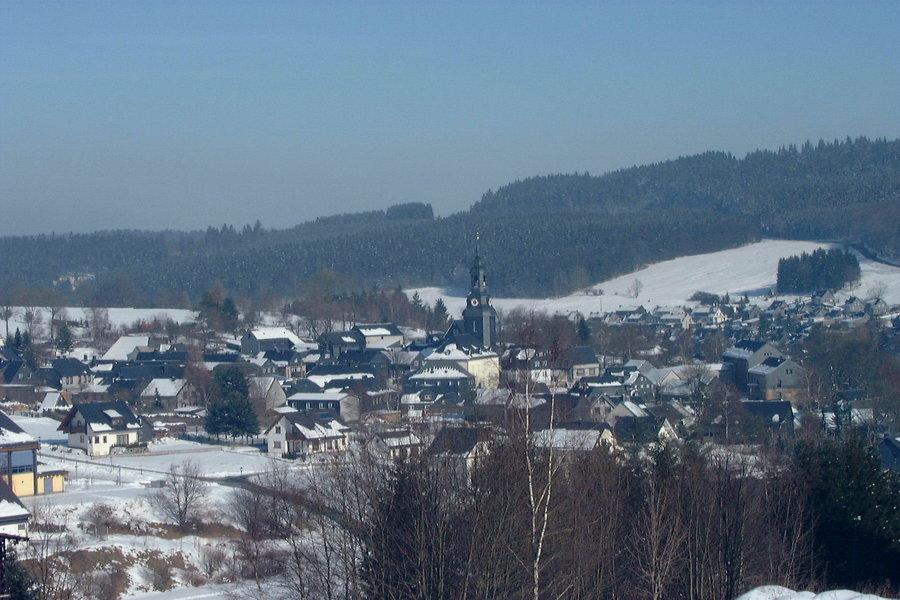 Wurzbach_im_Winter