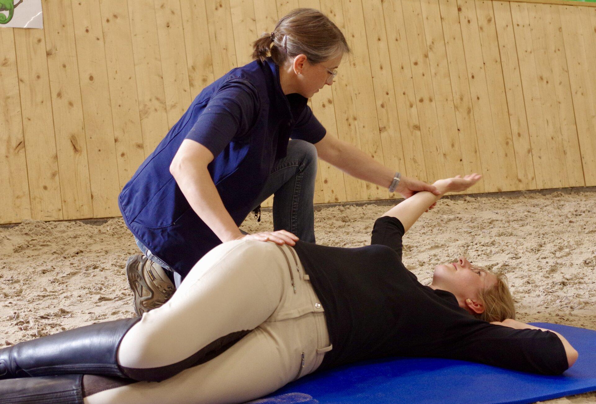 Physiotherapeutin