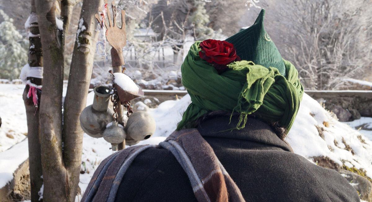 Sheik im Winter
