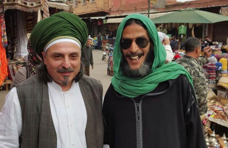 Sheik mit Herr