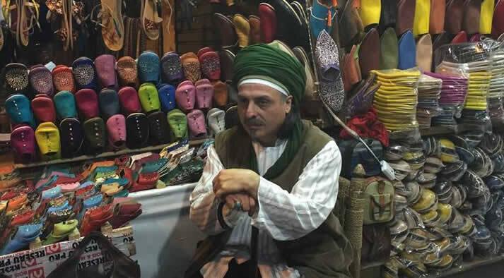 Sheik mit Schuhen