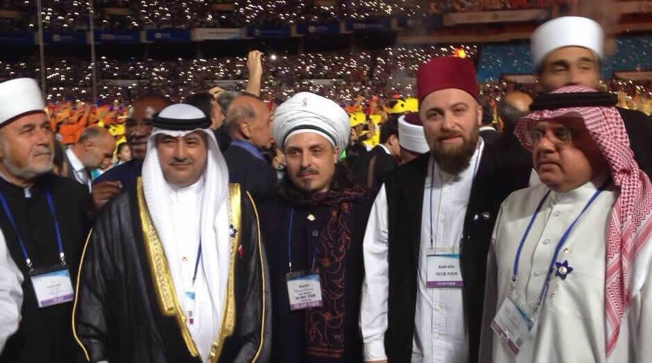 Sheik mit Leuten