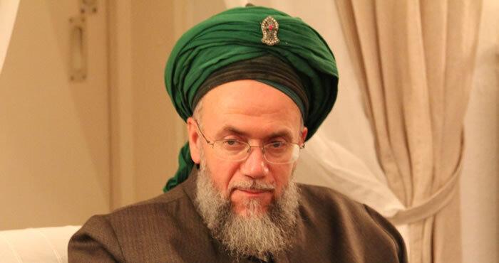 Herr mit grünem Turban