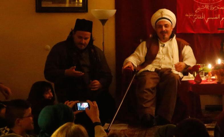 Sheik auf Bühne