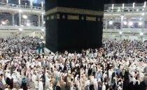 Kaaba wird angebetet