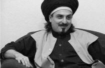 Sheik in schwarzweiß