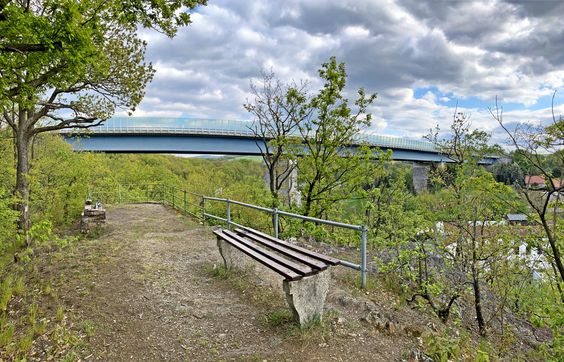 Ausblick Autobahnbrücke
