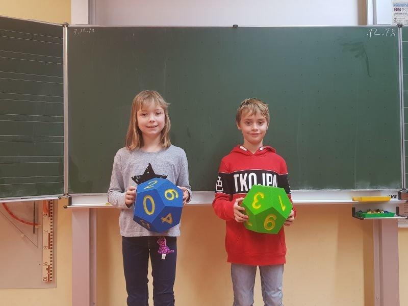 Unsere Schulsieger 2018:  Verena Bayer und Ben Mäuser