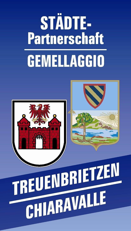 Logo Städtepartnerschaft Chiaravalle Treuenbrietzen