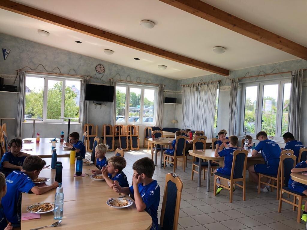 Fussballschule 2020 Mittagessen