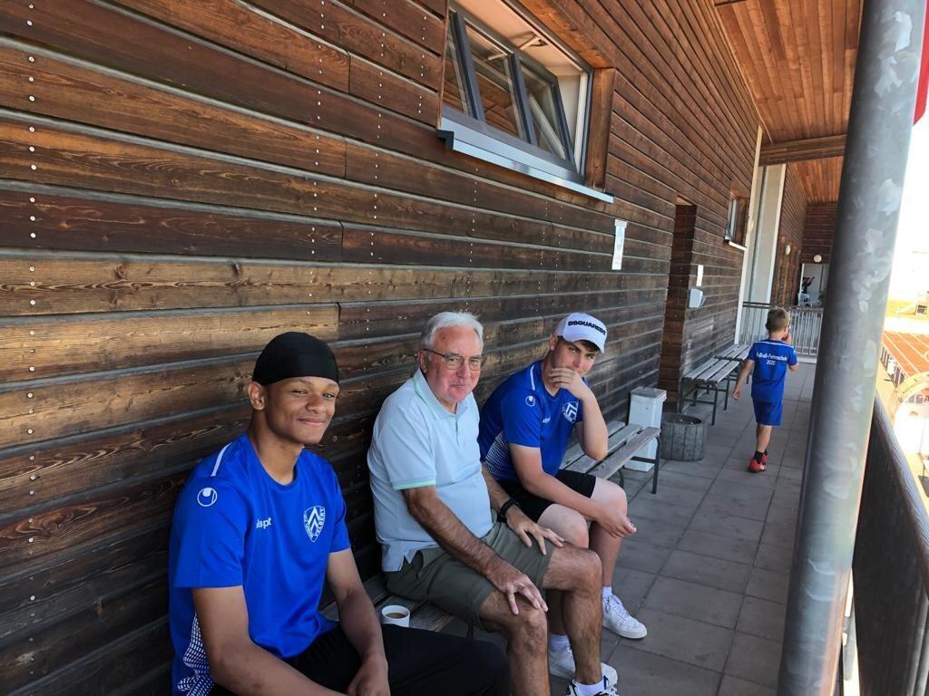 Fussballschule Trainerteam und Betreuer