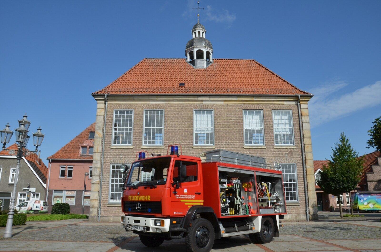 Tanklöschfahrzeug TLF 16/24 Tr.