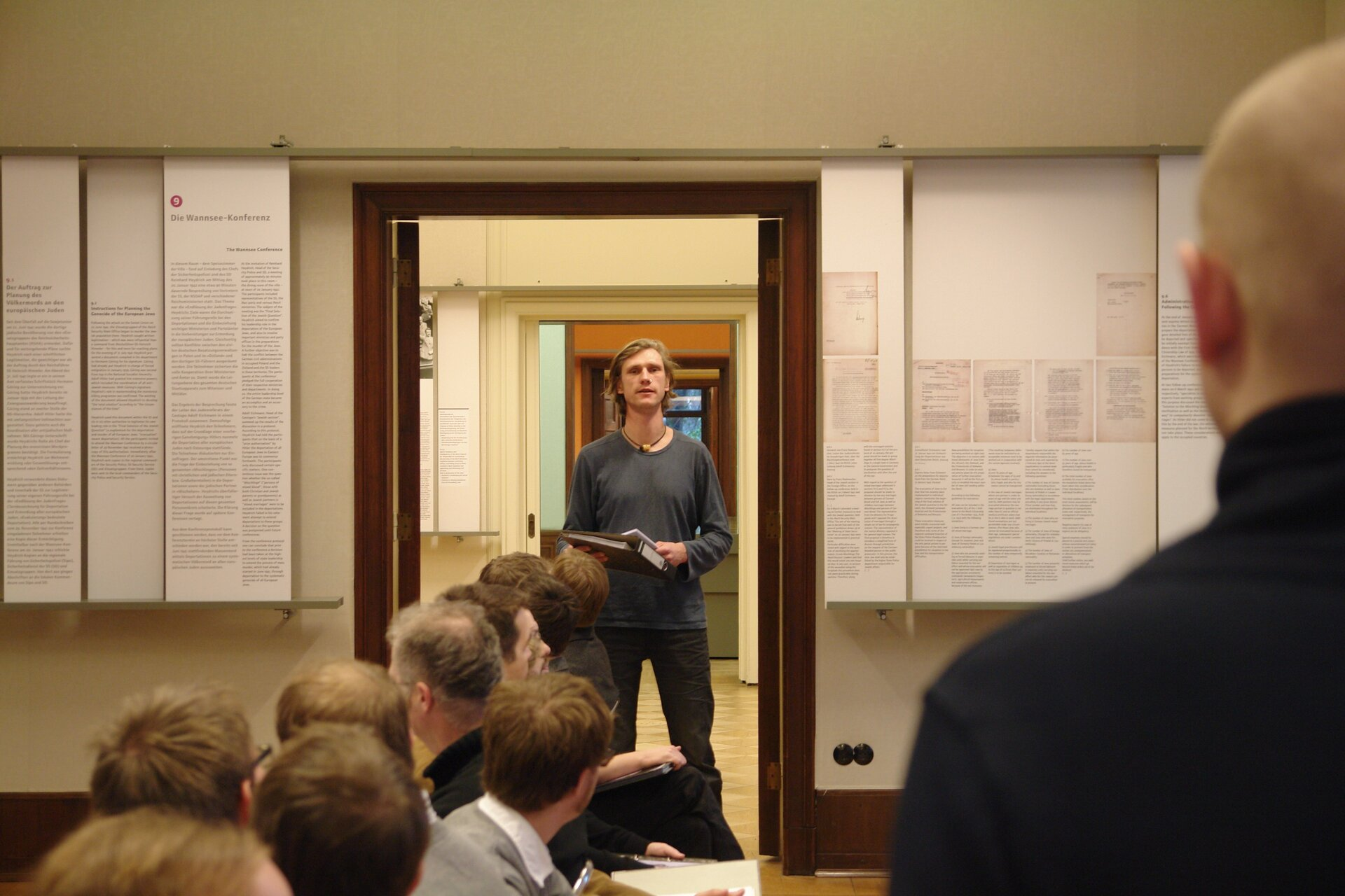 """""""Die Wannsee-Konferenz"""" (2012),  Foto: Philipp von Breitenbach"""