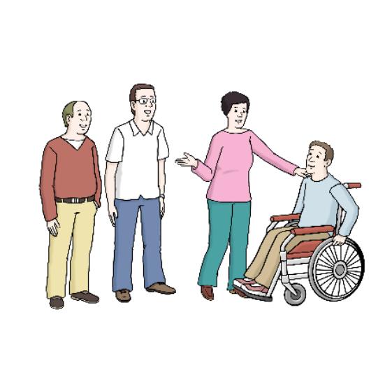 Bild Menschen mit Behinderung