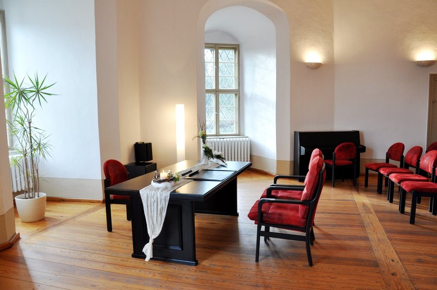 Kleiner Festsaal auf der Burg Eisenhardt