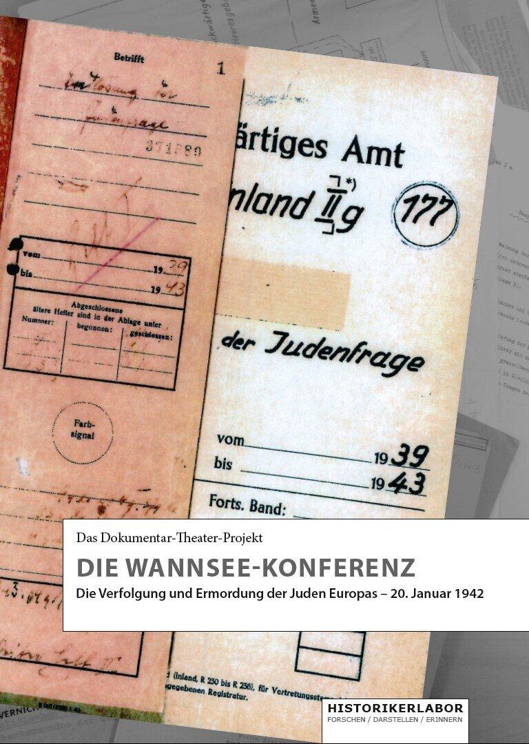 """Programmheft """"Die Wannsee-Konferenz"""", 3. Auflage"""