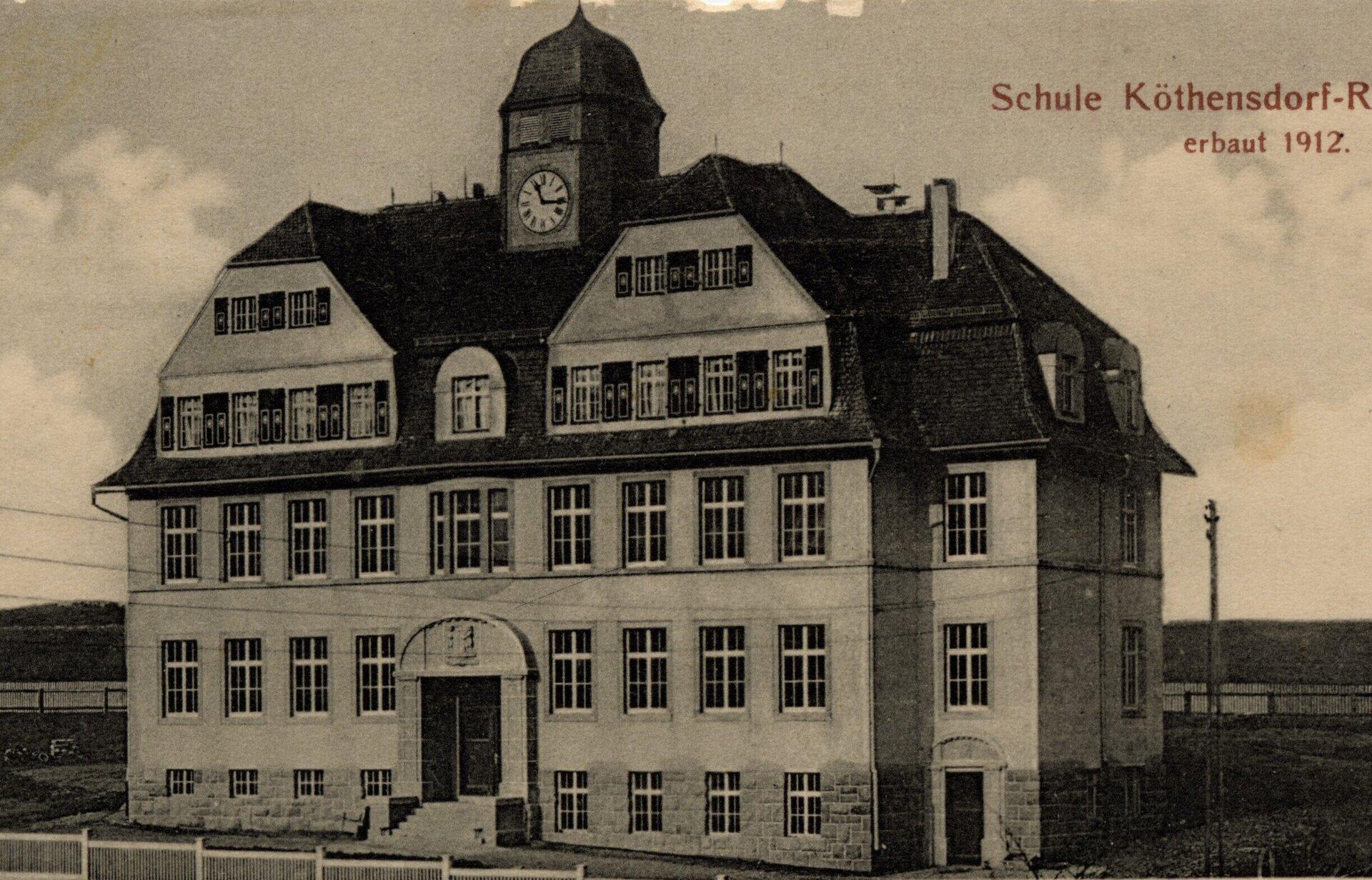 Schulneubau 1912