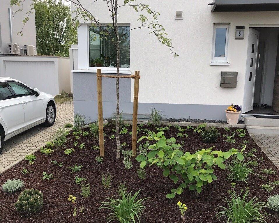 Vorgarten aus Hochstadt