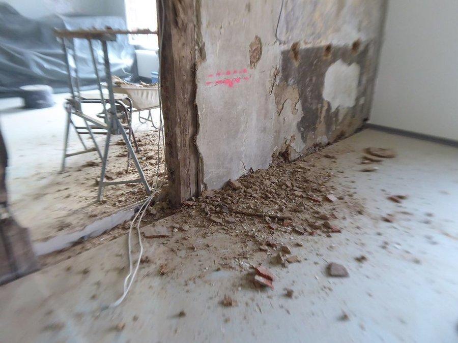 Entfernen der Wand