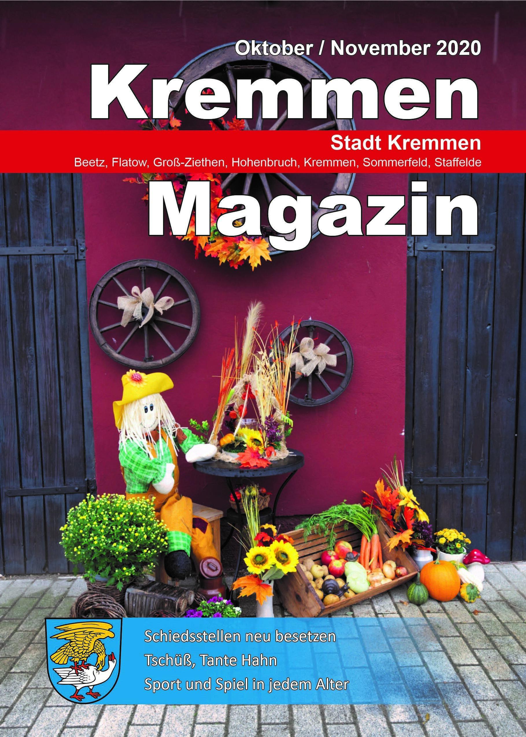 Kremmen Magazin 05/2020