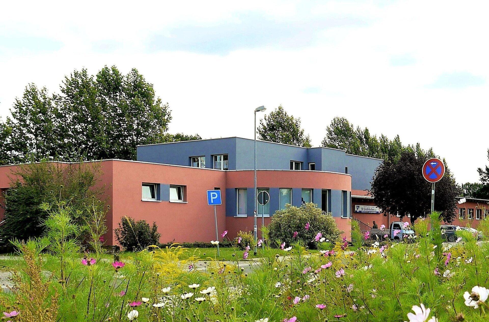 Gebäude des SV Großräschen