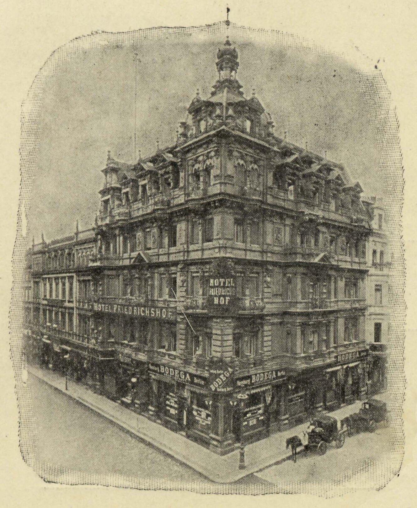 Hotel Friedrichshof vor 1897, ©Stephan Becker, Brüssow