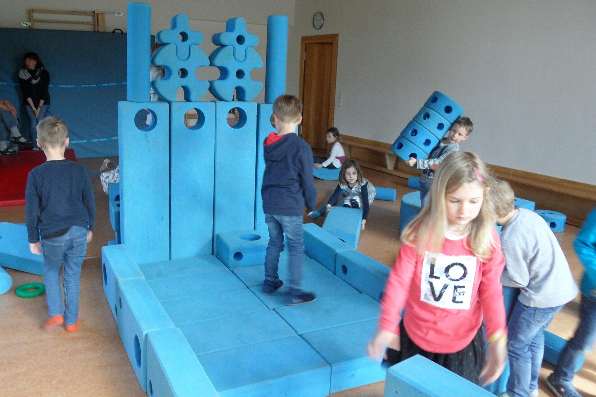Mobiler Spielplatz