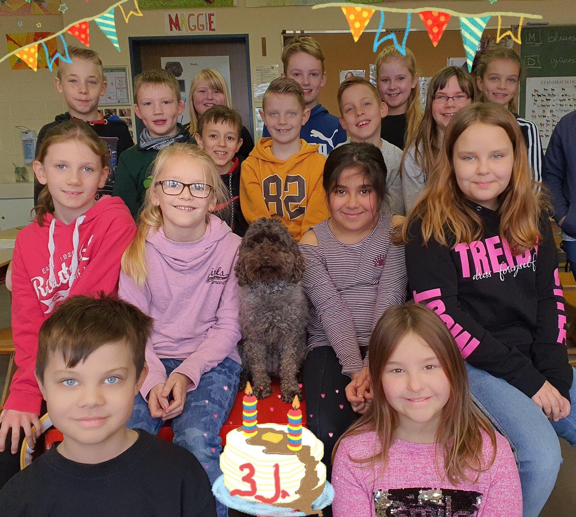 Maggies 3ter Geburtstag