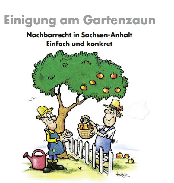 Einigung am Gartenzaun