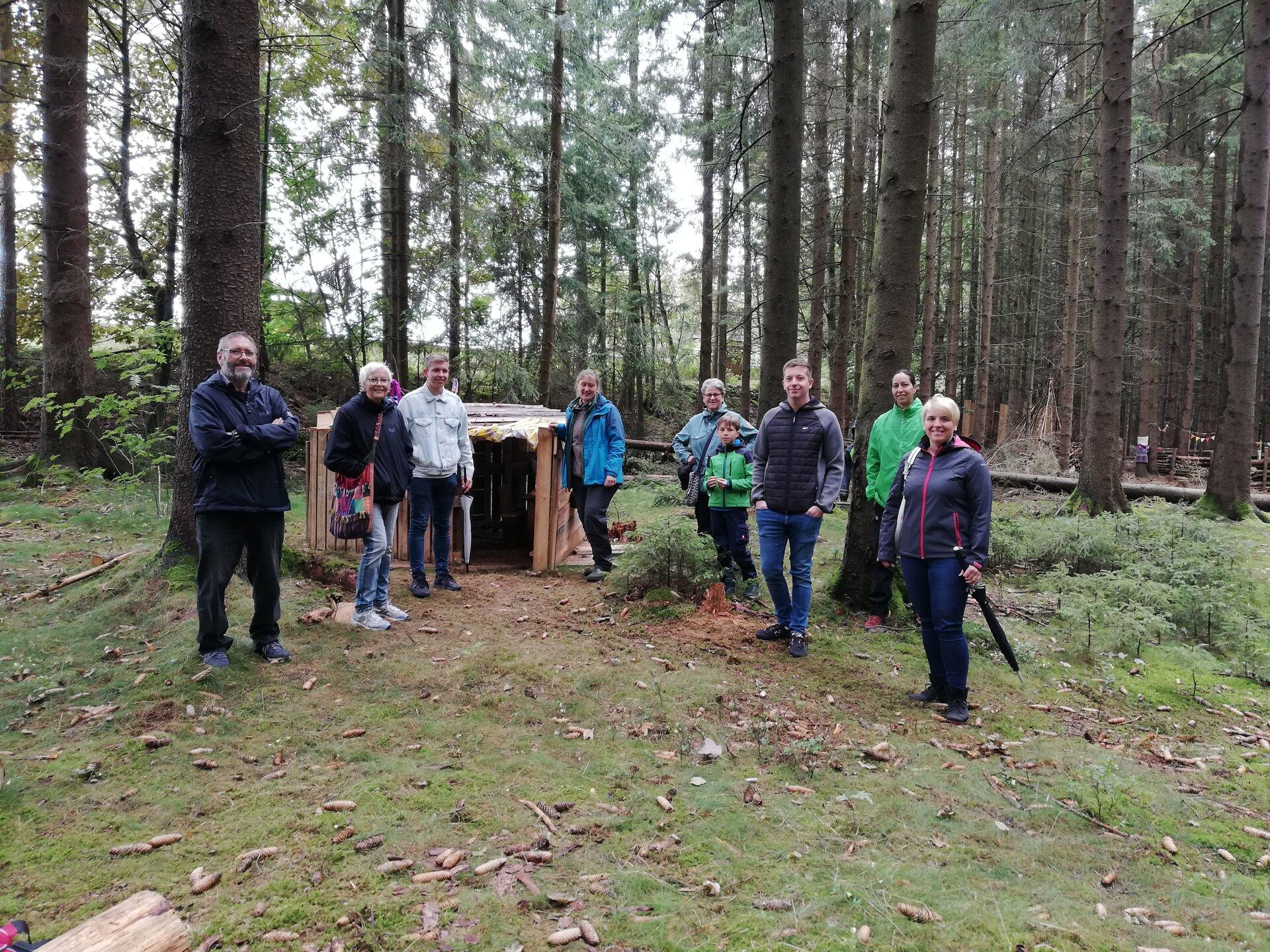 Bündnis 90/Die Grünen im Waldkindergarten