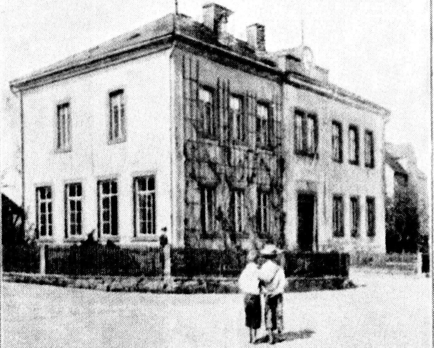 Schulhaus 1872 - 1912