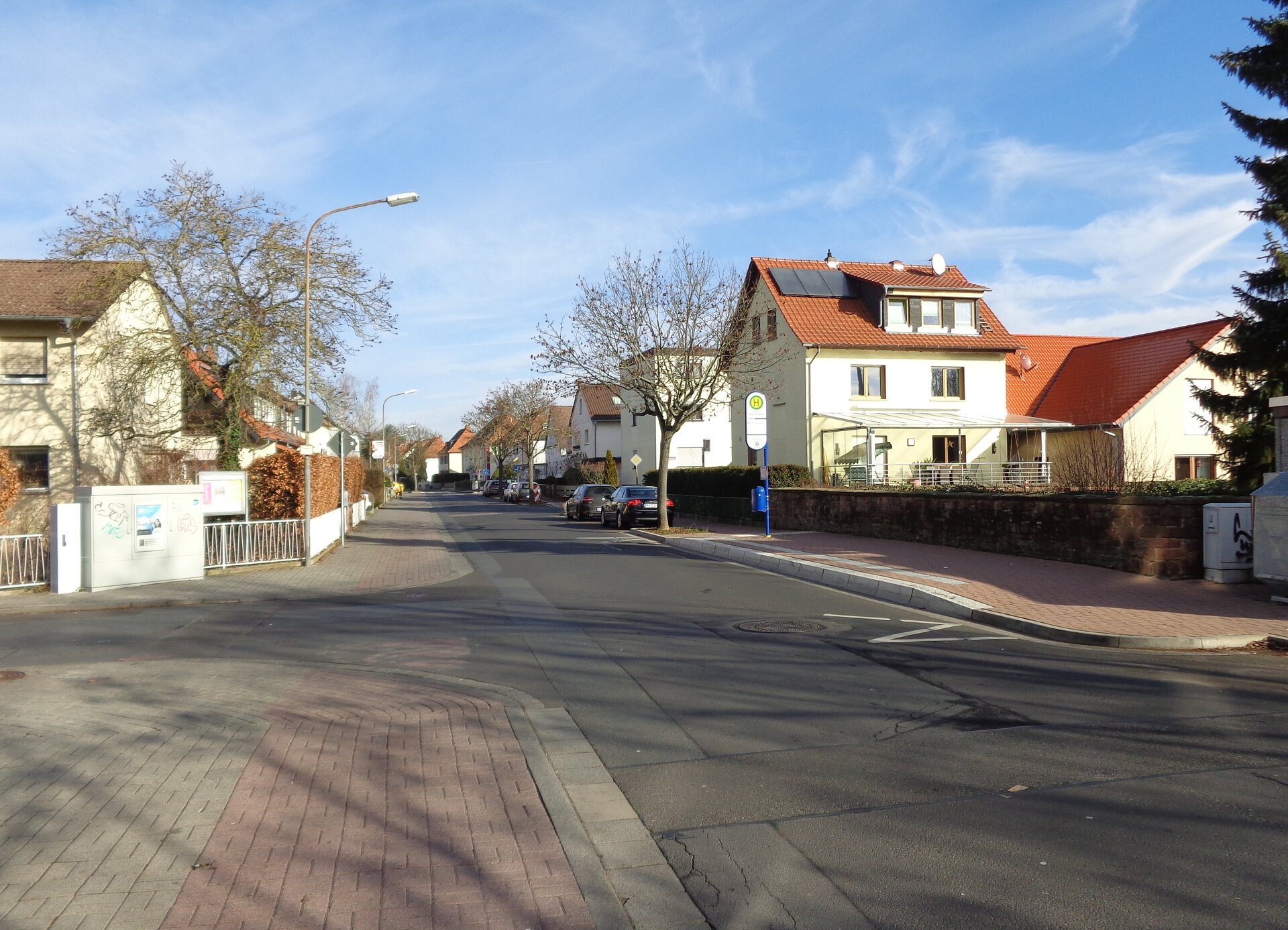 Foto: Stadt Maintal - Backesweg/Ecke Westendstraße in Maintal Dörnigheim