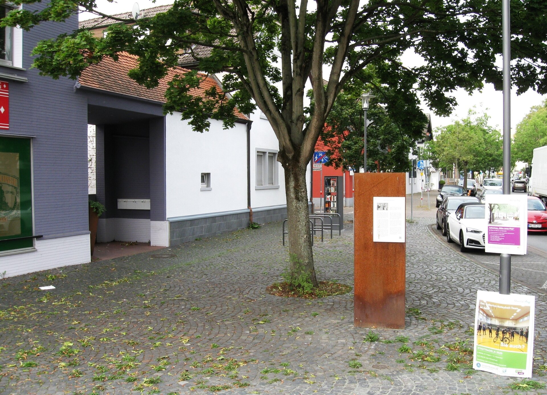 Foto: Stadt Maintal - Käthe-Jonas-Platz in Maintal Dörngiheim