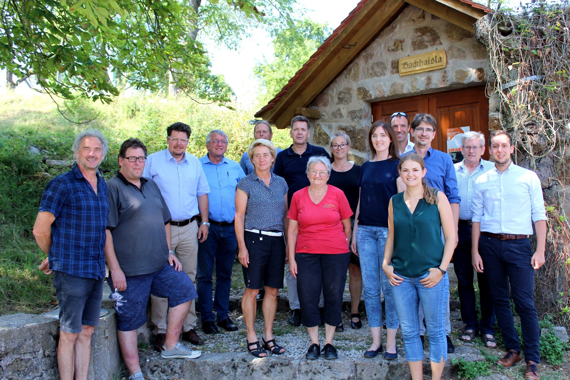 Projektauftakt am Kappelbuck 08/2018
