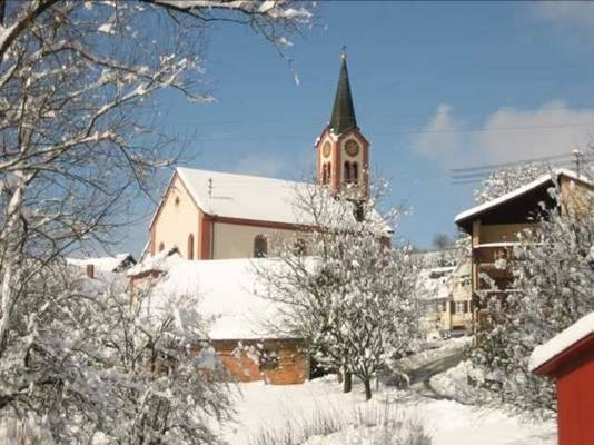 Feuerbach im Winter