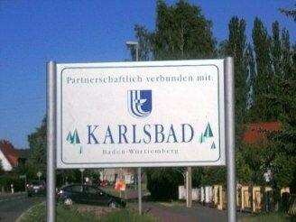 Schild Bahnhofsstraße